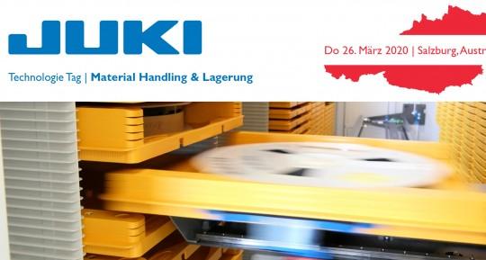 JUKI TECHNOLOGIE TAG AUSTRIA | MATERIAL HANDLING UND LAGERUNG 26.03.2020